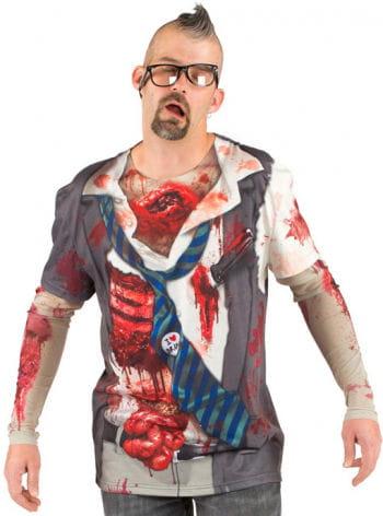 Zombie Shirt Heart and Brain