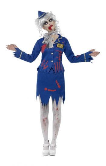 Zombie Stewardess Costume