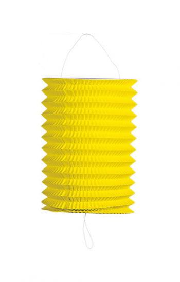 Summer party lantern yellow