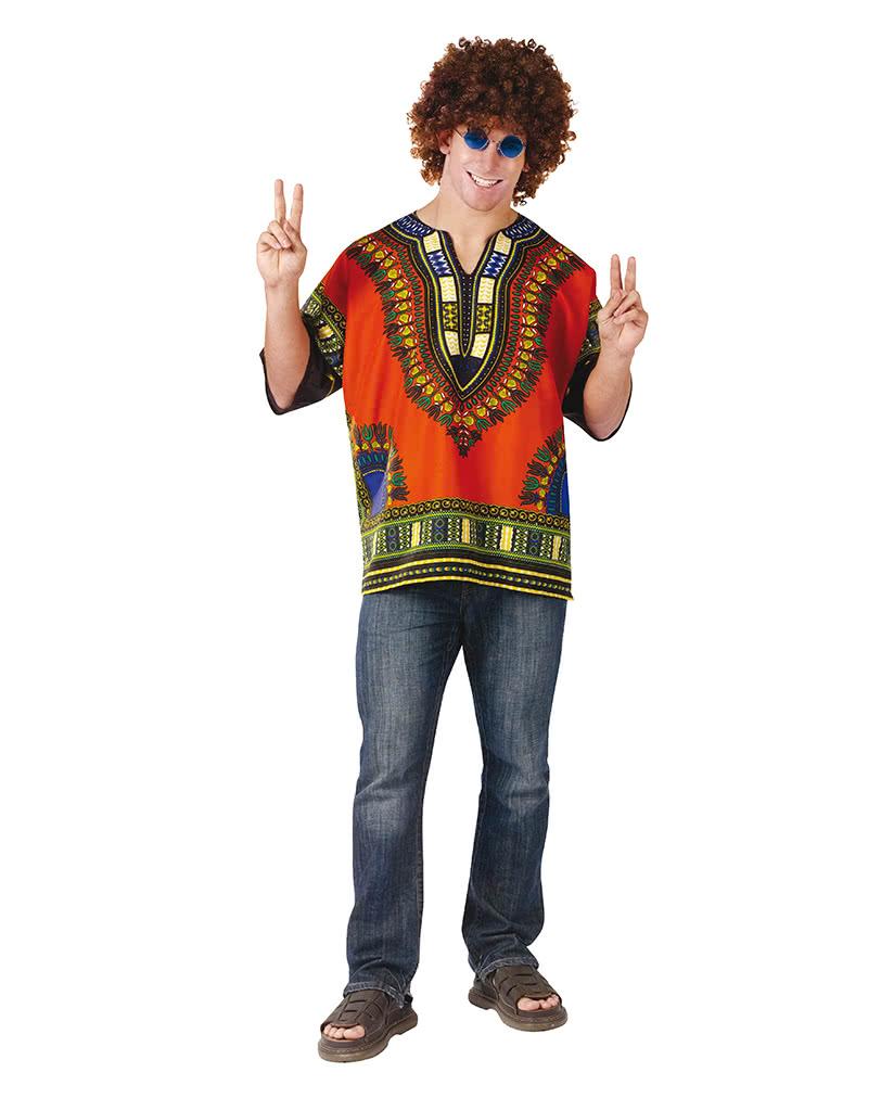 Dashiki Hippie Shirt als Woodstock Verkleidung | Horror-Shop.com