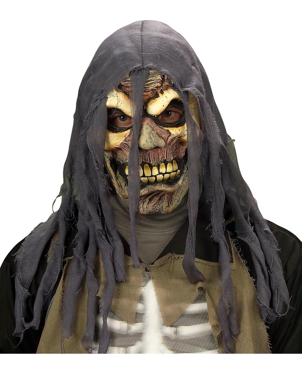 fetzen zombie maske zombiemasken g nstig online kaufen. Black Bedroom Furniture Sets. Home Design Ideas