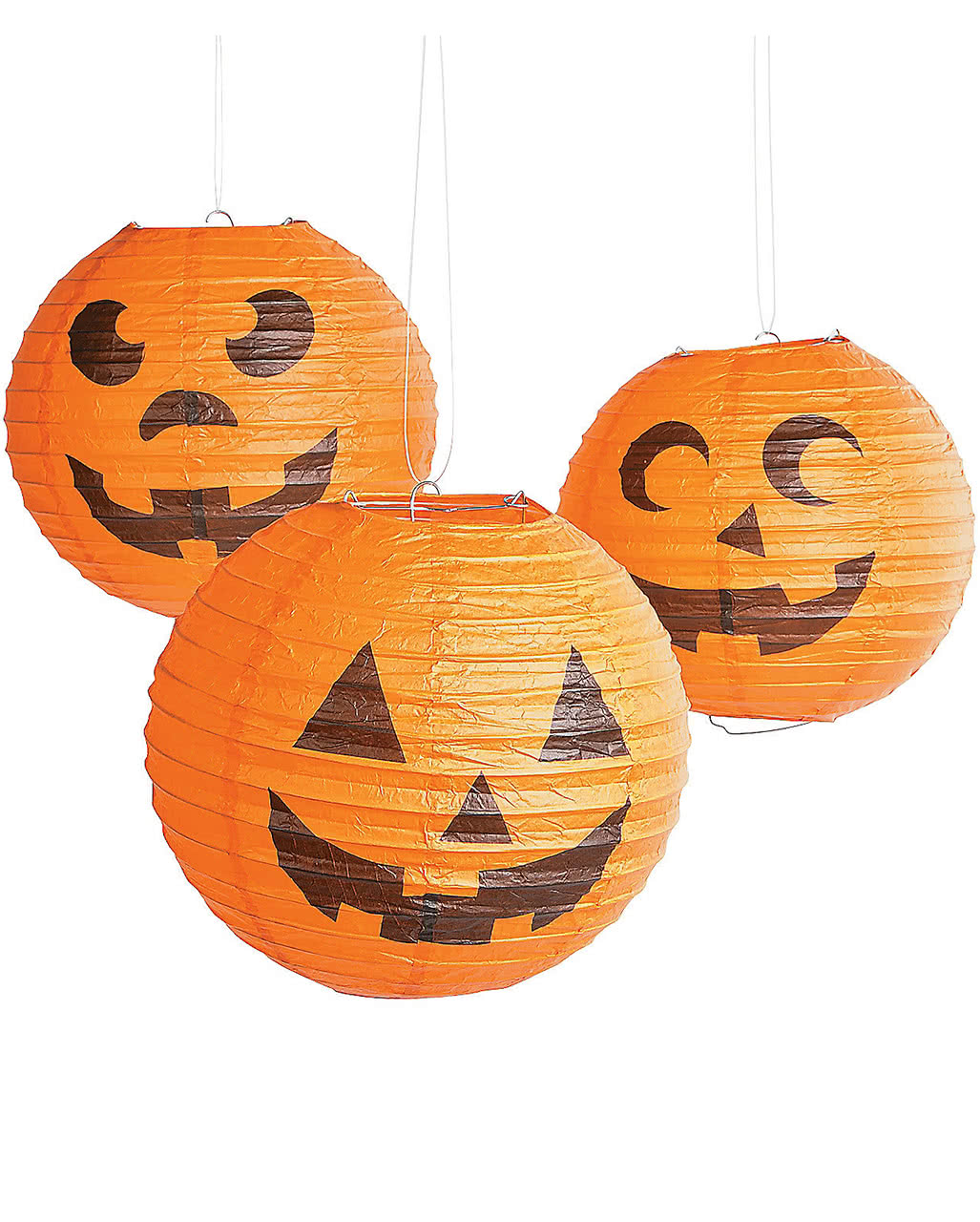 halloween k rbis lampions 6er pack pumpkin deko horror. Black Bedroom Furniture Sets. Home Design Ideas