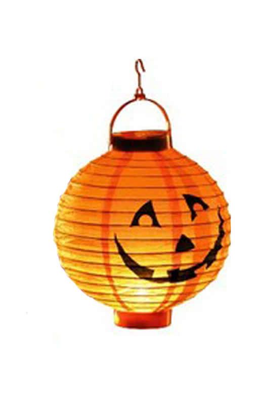 led lampion mit k rbismotiv als stimmungsvolle halloween beleuchtung horror. Black Bedroom Furniture Sets. Home Design Ideas