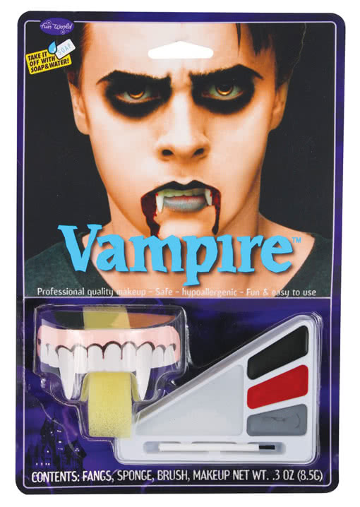 vampir make up kit halloween make up vampir horror. Black Bedroom Furniture Sets. Home Design Ideas