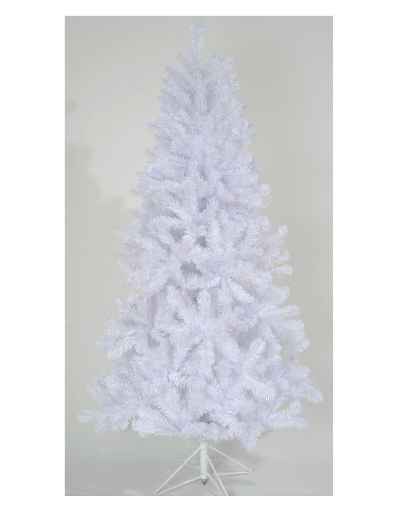White christmas tree with stand 180 cm as christmas tree for 180 degrees christmas decoration