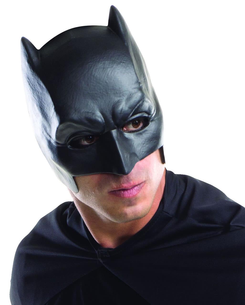 batman umhang mit maske superhelden kost m set horror. Black Bedroom Furniture Sets. Home Design Ideas