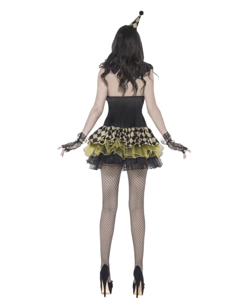 sexy zombie clown costume for women ladies halloween disguise horror. Black Bedroom Furniture Sets. Home Design Ideas