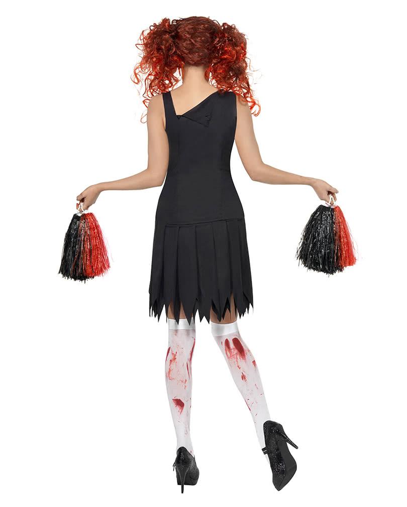 horror cheerleader kost m s zombie cheerleader uniform horror. Black Bedroom Furniture Sets. Home Design Ideas