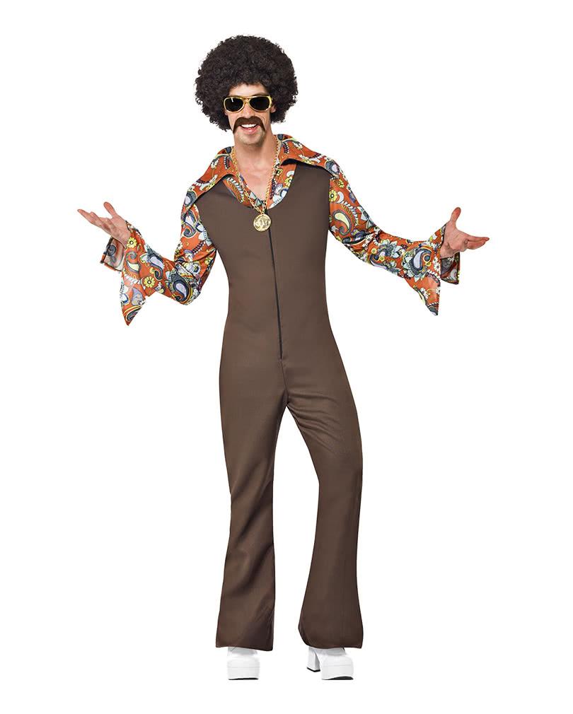 70er Jahre Groovy Disco Jumpsuit Flippige Disco Kostume In Grosser