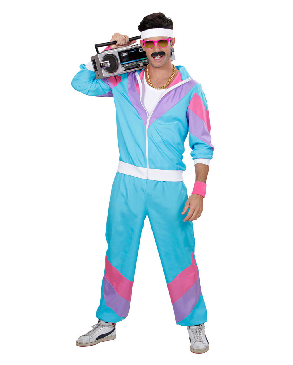 80s Jogging Suit Men Costume As Carnival Costume Karneval Universe