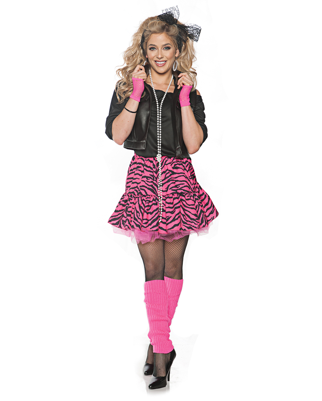 80er Popstar Girl Kostum Fur Fasching Mottoparty Karneval Universe
