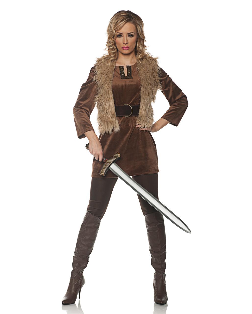 Damenkostum Abenteuer Lady Jagerin Kostum Karneval Universe