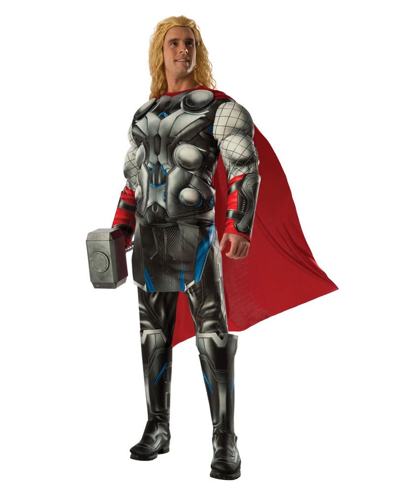 Thor Herren Muskelkostum Thor Superhelden Kostum Karneval Universe