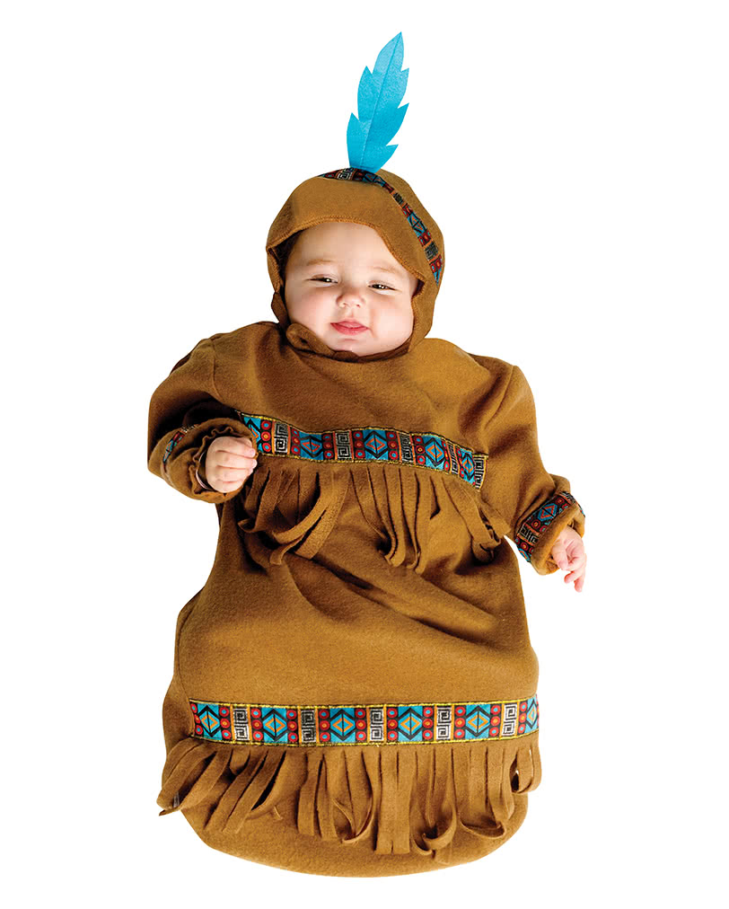 Indian Baby Sack Costume To The Wild West Mottoparty Karneval