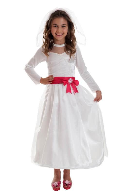 Barbie Hochzeitskleid Kostüm | Lizenziertes Barbie Braut Kostüm ...