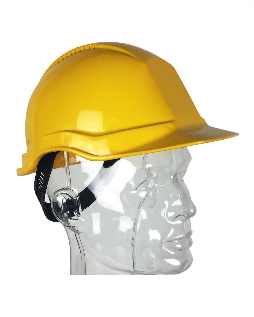 Bauarbeiterhelm Gelb Bauarbeiteraccessoire Karneval Universe