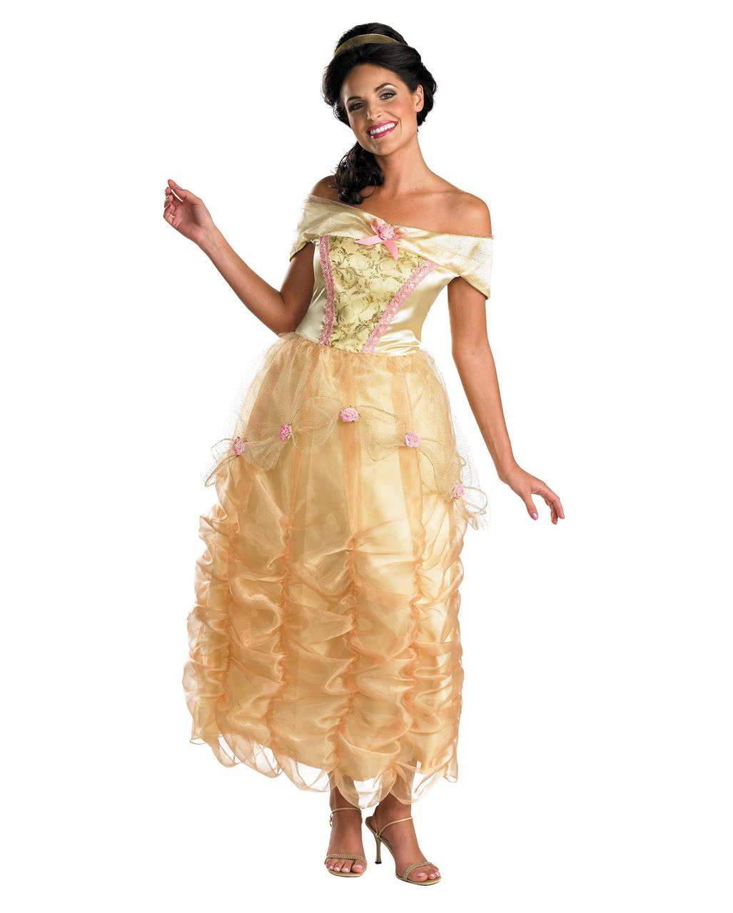 Disney Deluxe Kostum Belle Fur Damen Karneval Universe