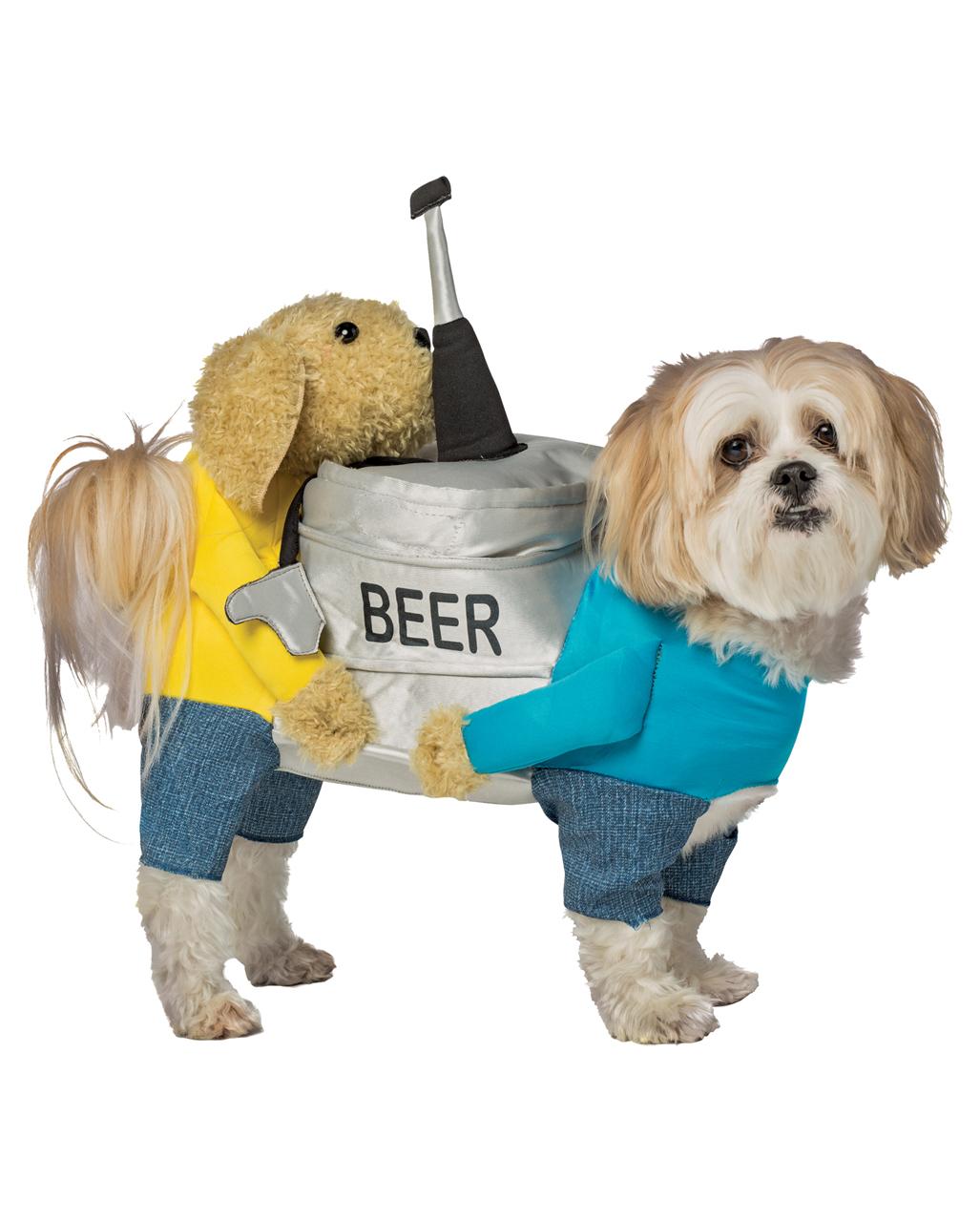 Bierfass Kostum Fur Hunde Als Lustige Tierverkleidung Karneval