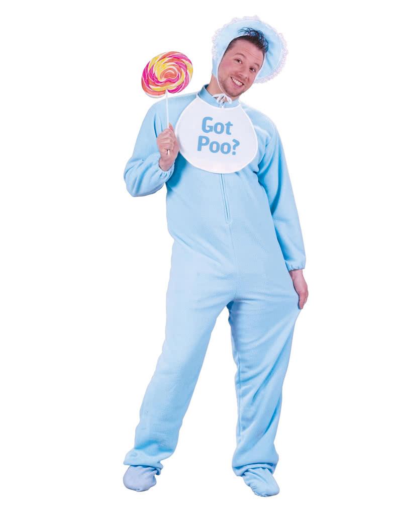 Riesenbaby Kostum Blau Babykostum Fur Erwachsene Baby Kostume
