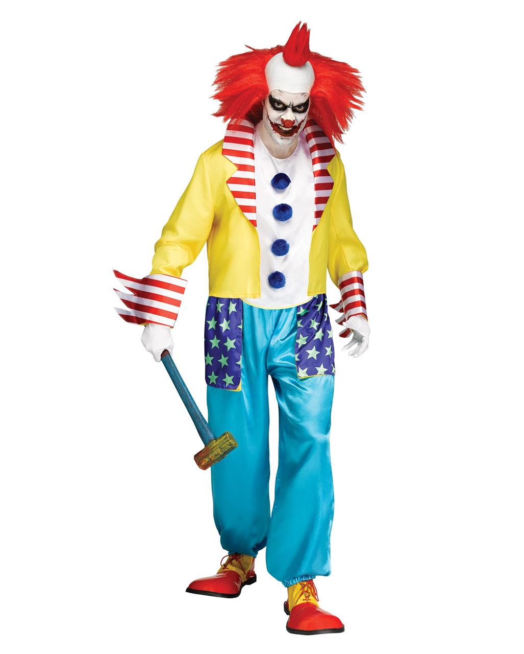 Boser Bunter Clown Halloween Kostum Fur Horror Partys Karneval