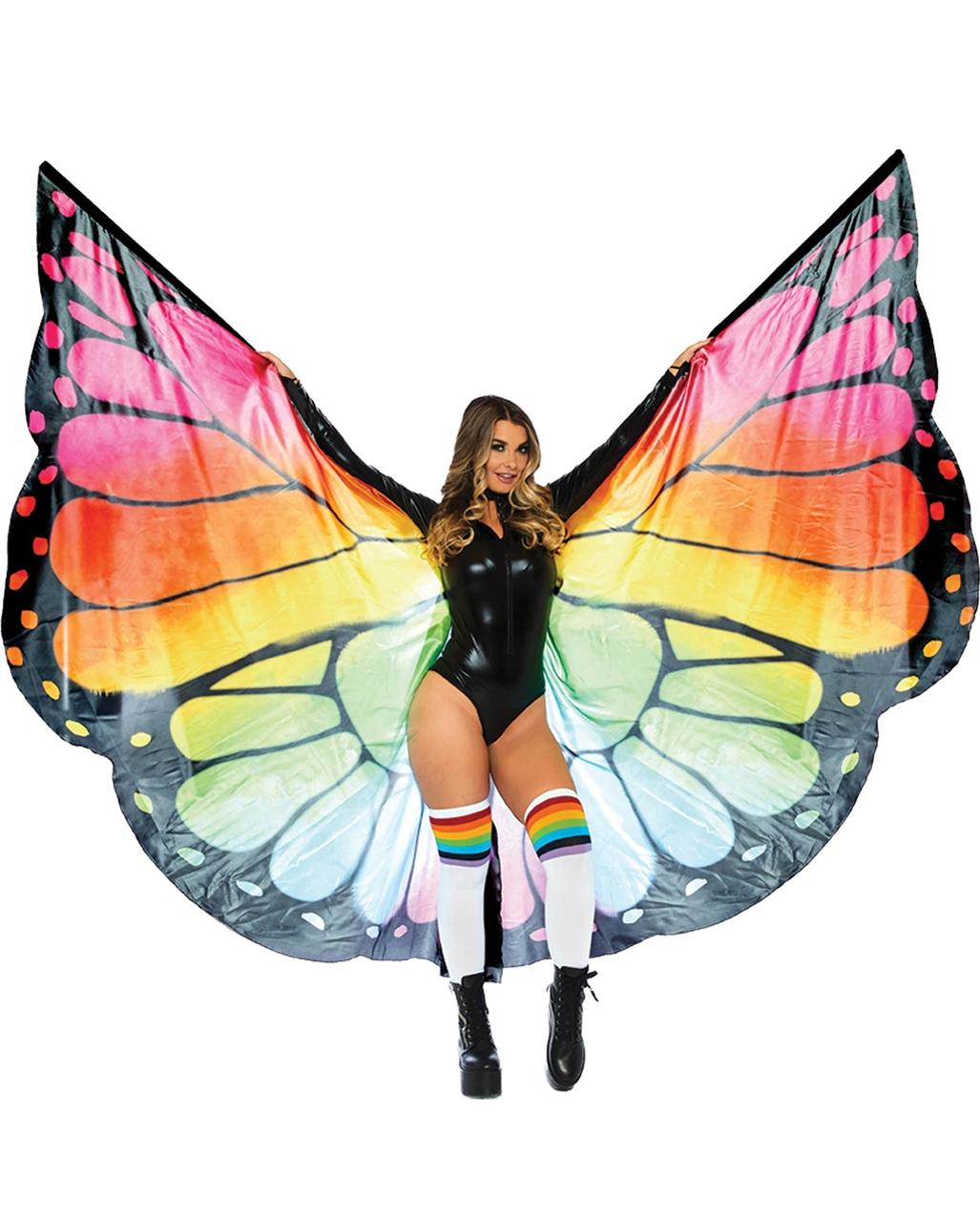 Schmetterlinge anhaken