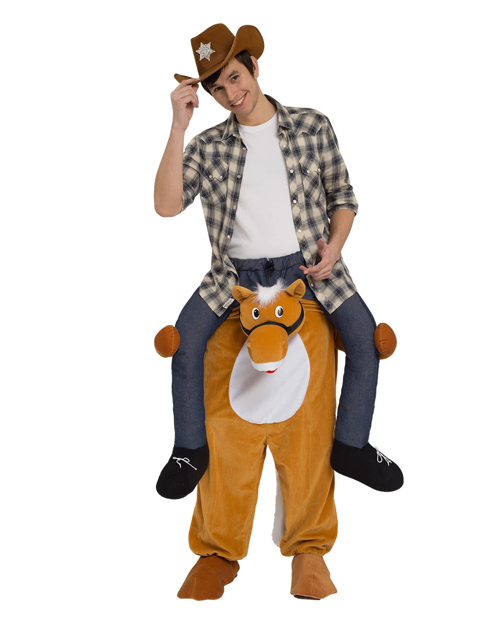 Reitender Cowboy Carry Me Kostum Fur Fasching Karneval Universe