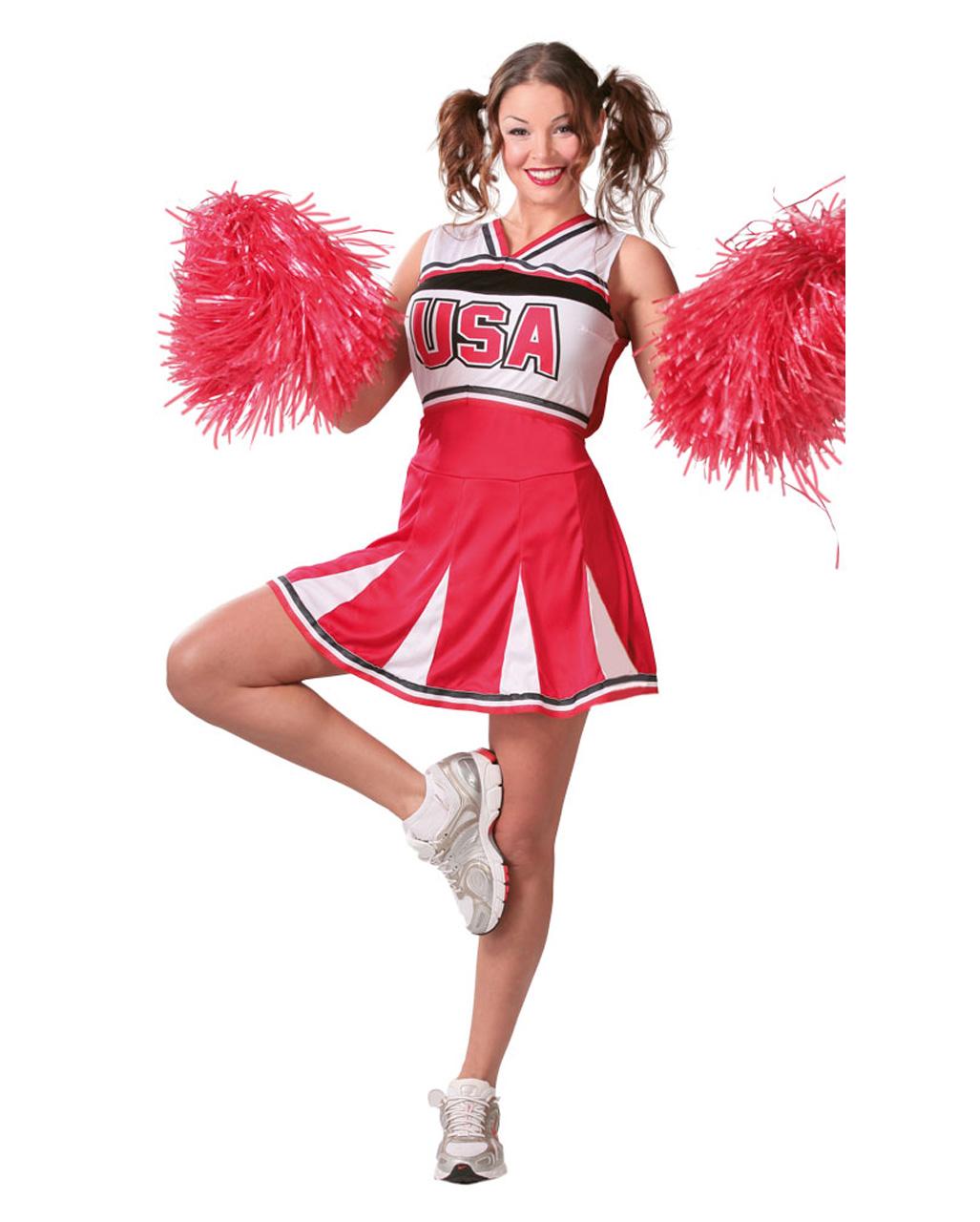 Sportliches Cheerleader Kostum Fur Fasching Karneval Universe