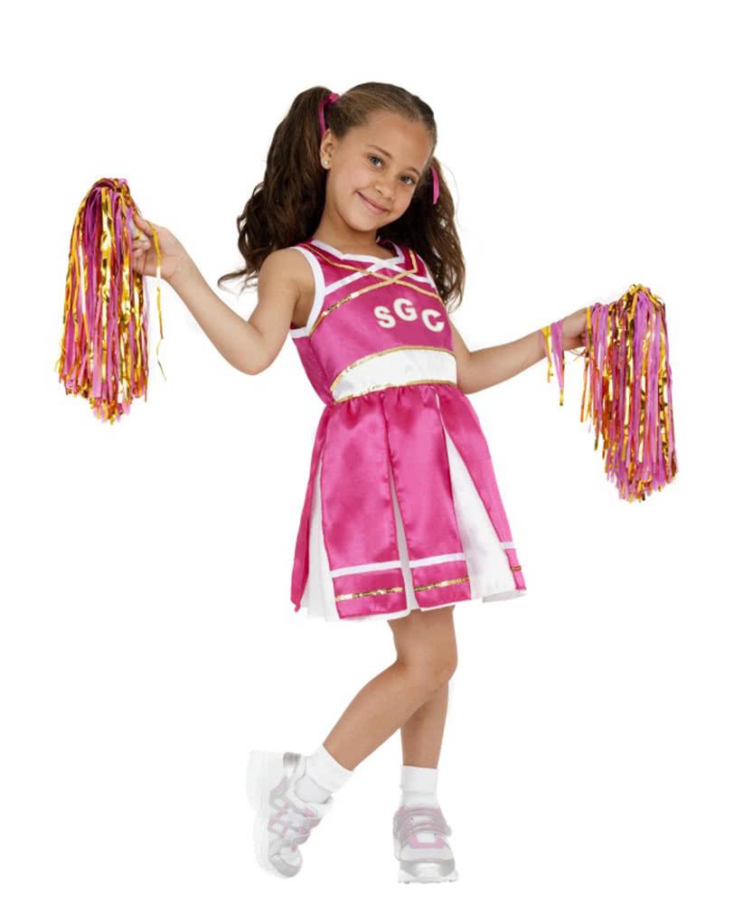 Cheerleader Madchenkostum Faschingsverkleidung Fur Kinder