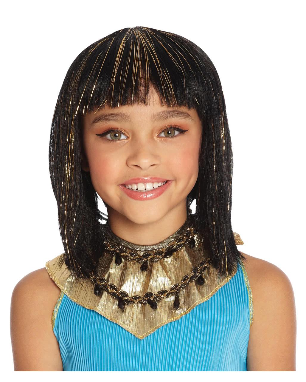 Kinderperucke Kleopatra Fur Fasching Karneval Universe