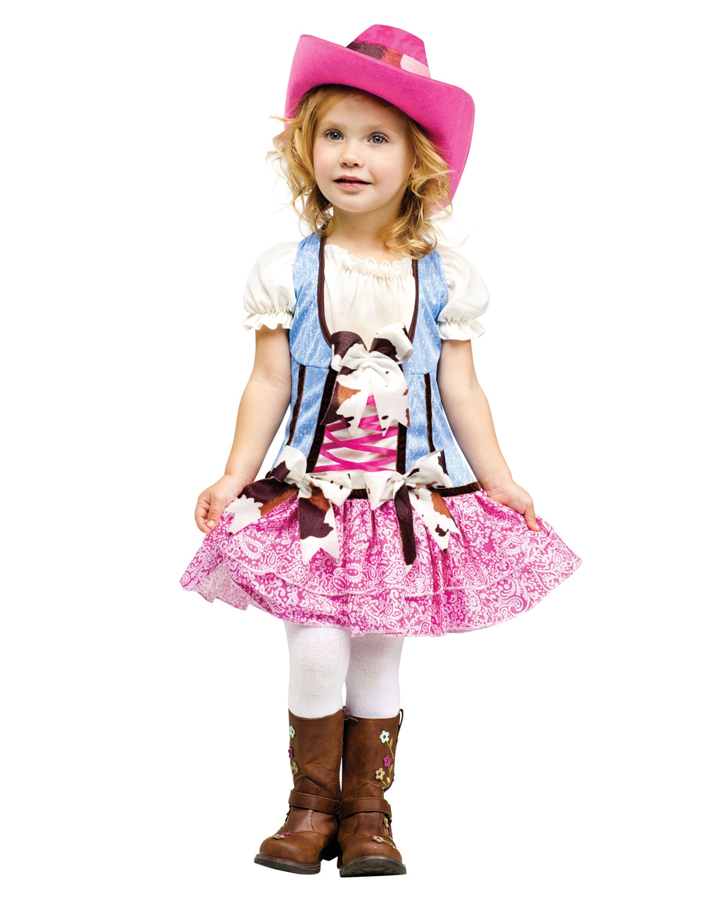Cowgirl Kids Costume With Cowboy Hat for carnival  602ea1ffd9c4
