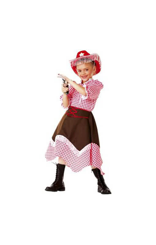 Cowgirl Kostum Fur Madchen Faschingskostum Eines Cowgirls