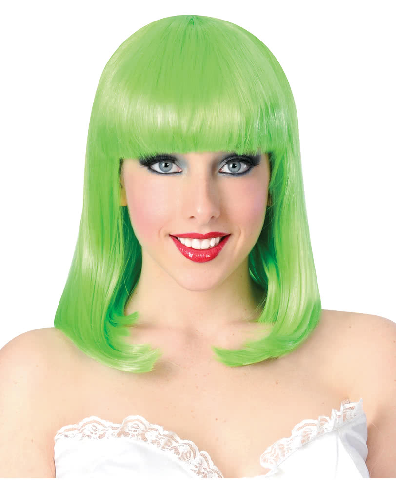 Showgirl Wig With Fringe Neongrun Carnival Wigs Cheap Karneval
