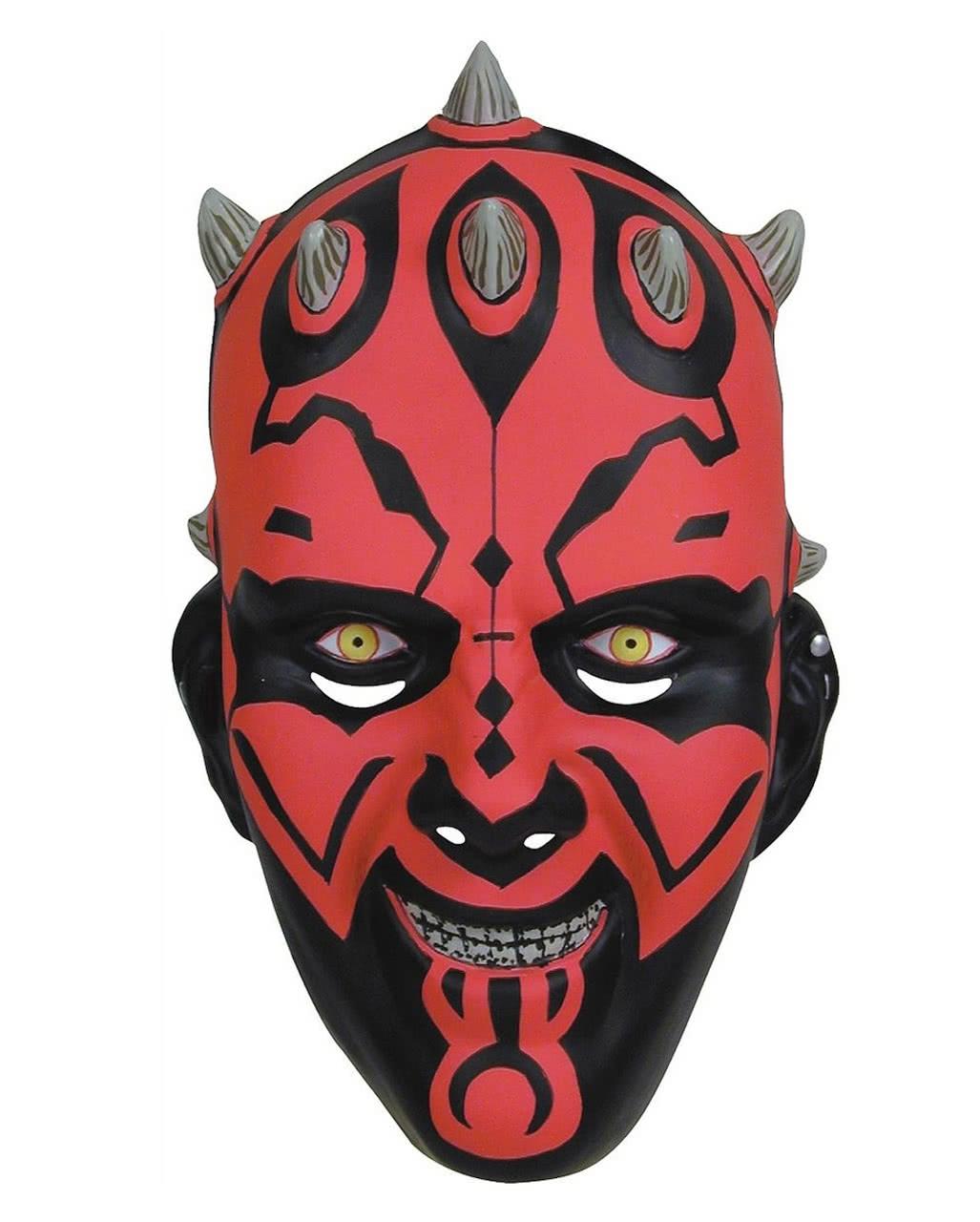 Darth Maul PVC Maske Star Wars Masken kaufen   Karneval Universe