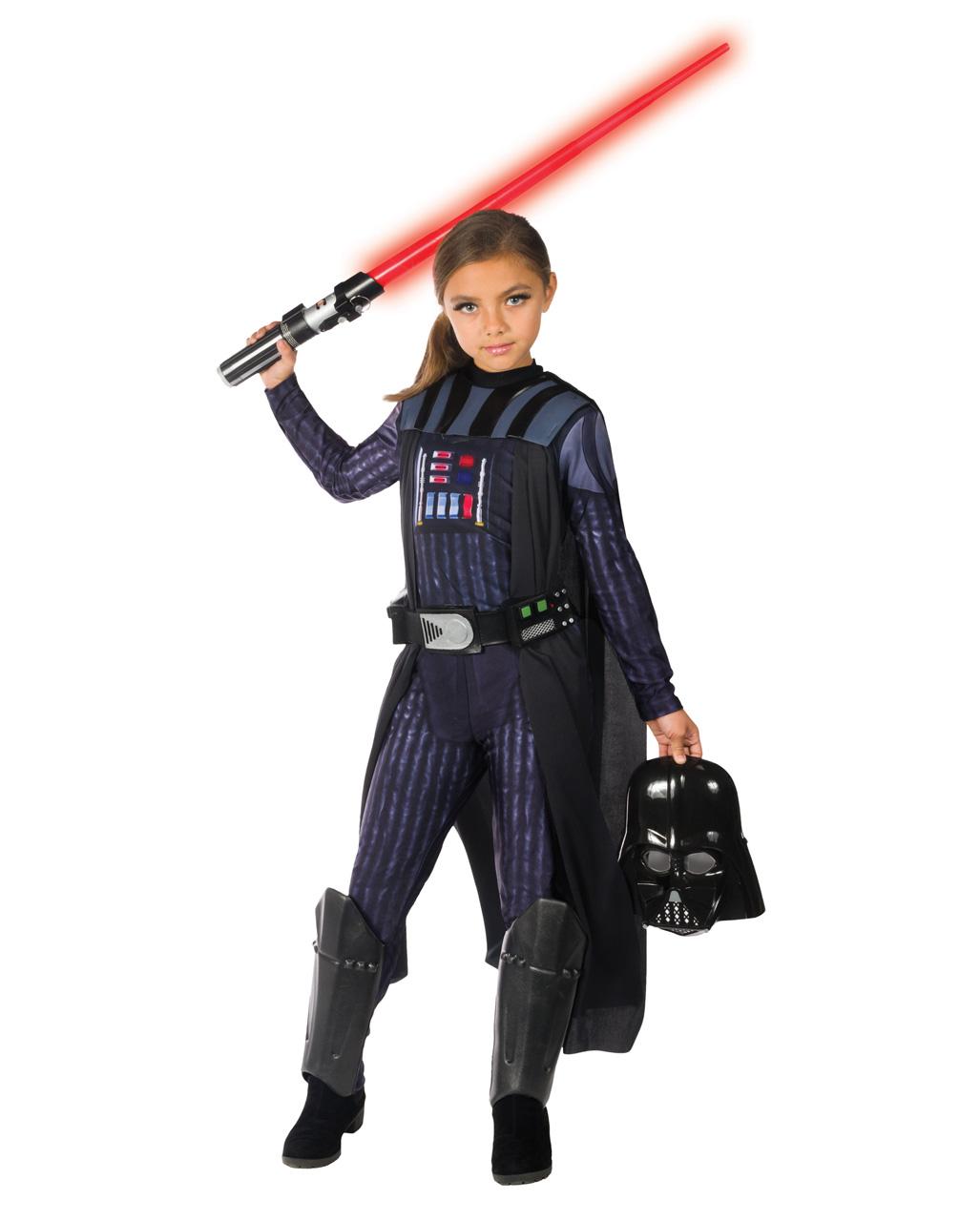 Darth Vader Mädchenkostüm Star Wars Kostüme Karneval Universe