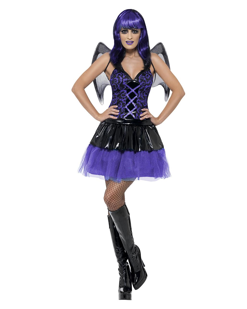 Verruchter Engel Damen Kostum Fur Halloween Karneval Universe