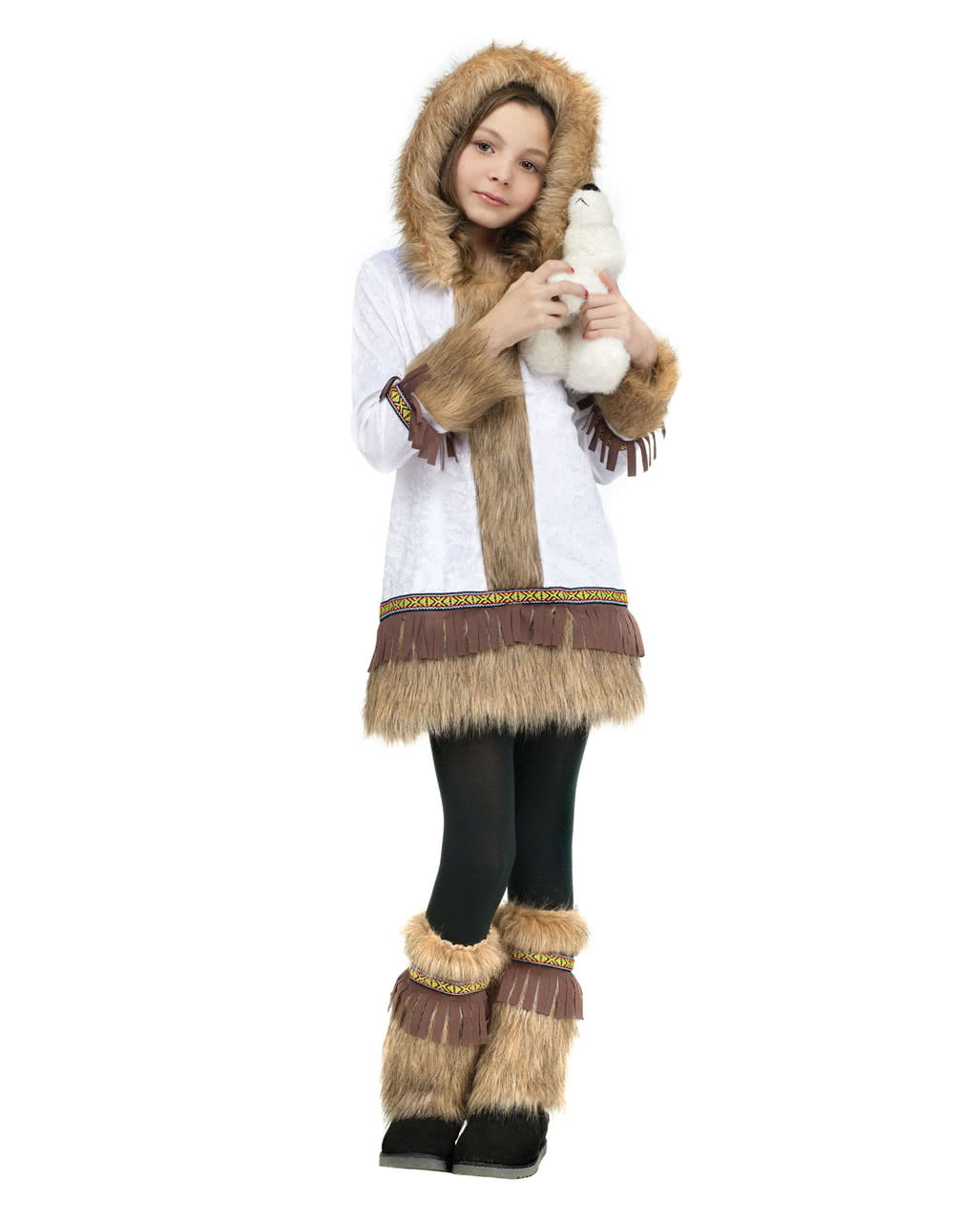 Susses Eskimo Madchen Kostum Fur Fasching Karneval Universe