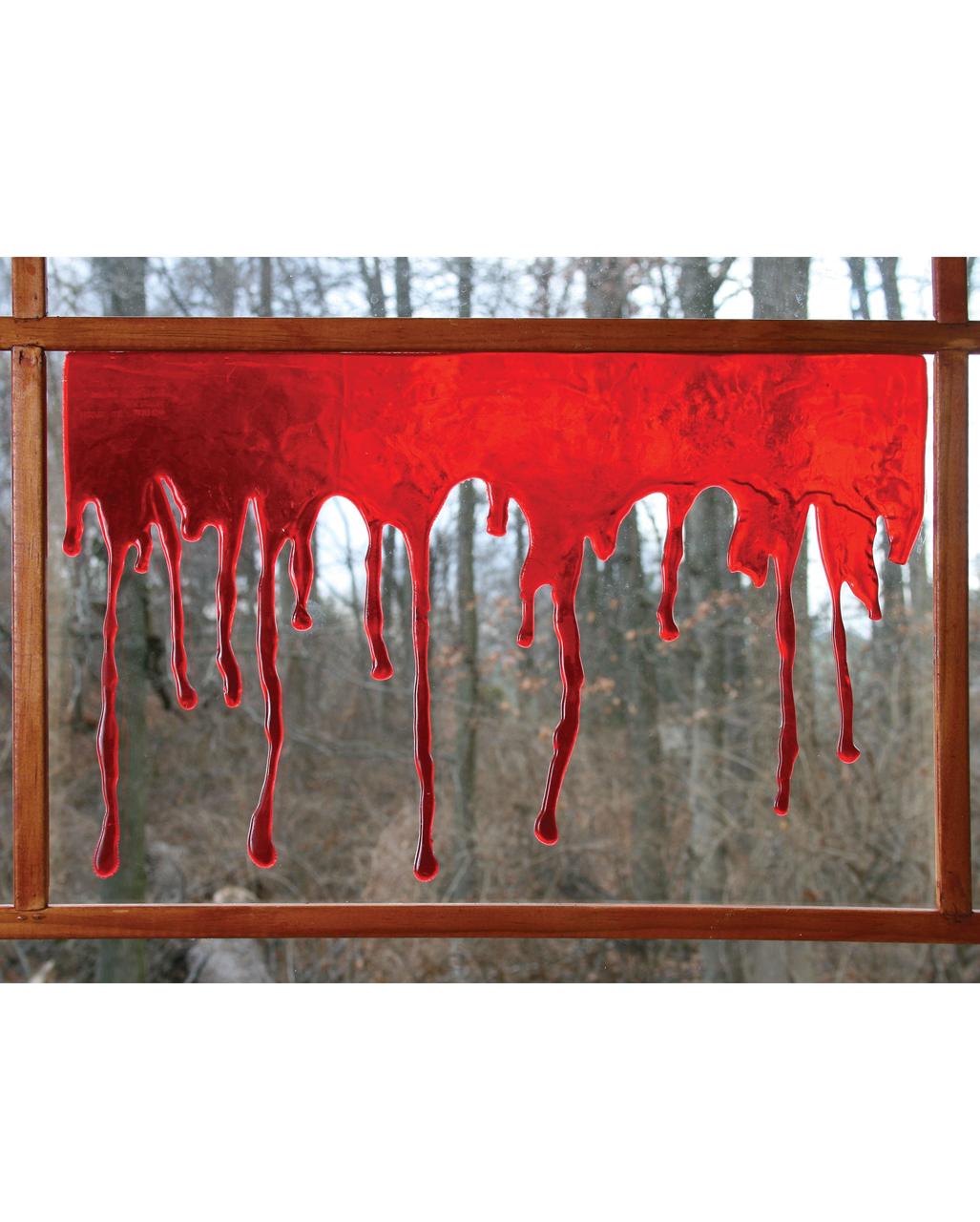 Halloween Fensterblut Blutige Fenster Deko Fur Halloween Karneval