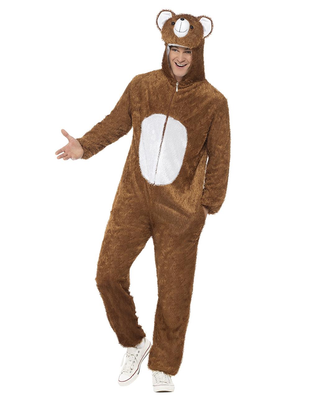 Party Bär Verkleidung   Tier Kostüm für Herren   Karneval Universe