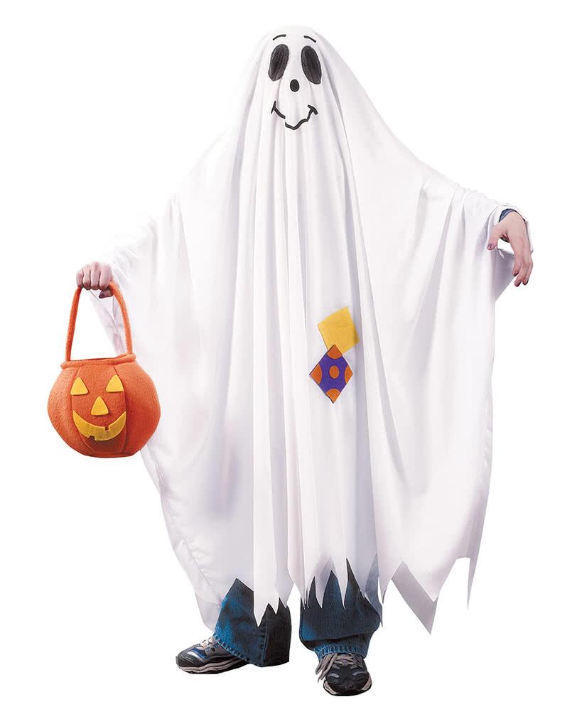 Gespenst Kostüm Für Kinder Praktisches Geister Kostüm Karneval