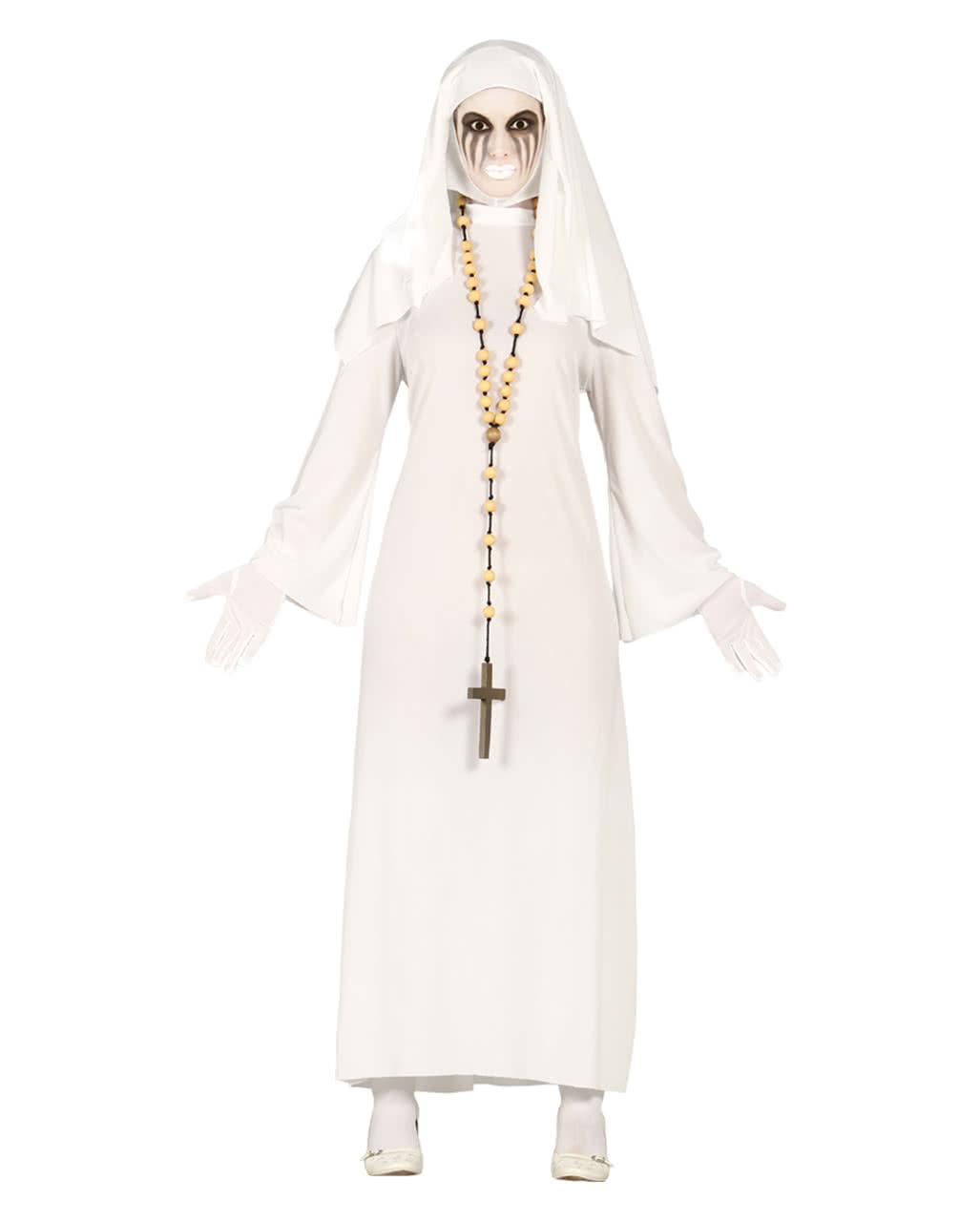 Gespentisches Nonnen Kostum Fur Fasching Halloween Karneval Universe