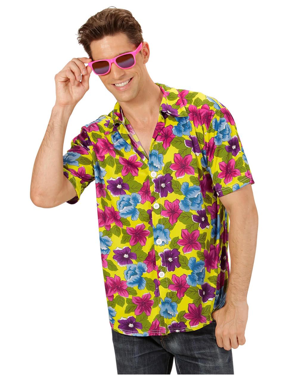 Hawaii Hemd Gelb Fasching Karneval Kostume Karneval Universe