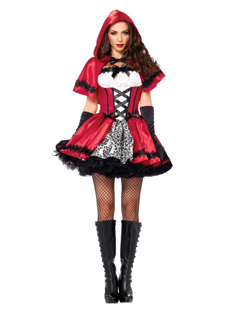 Dusteres Rotkappchen Kostum Fur Fasching Karneval Universe