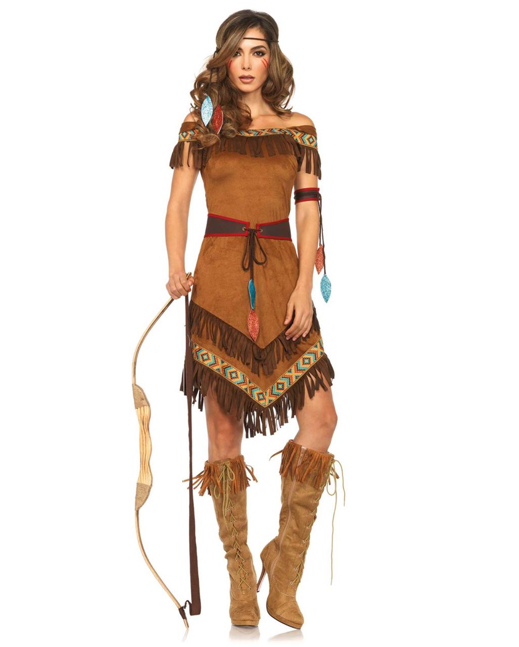 Indianer Prinzessin Kostum Fur Mottoparty Karneval Universe