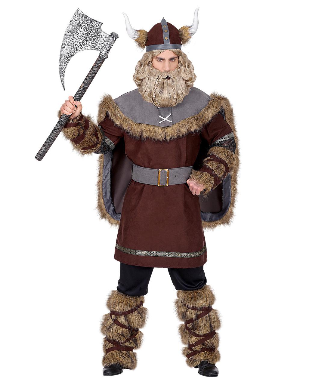 5 Tlg Wikinger Herren Kostum Fur Fasching Kaufen Karneval Universe