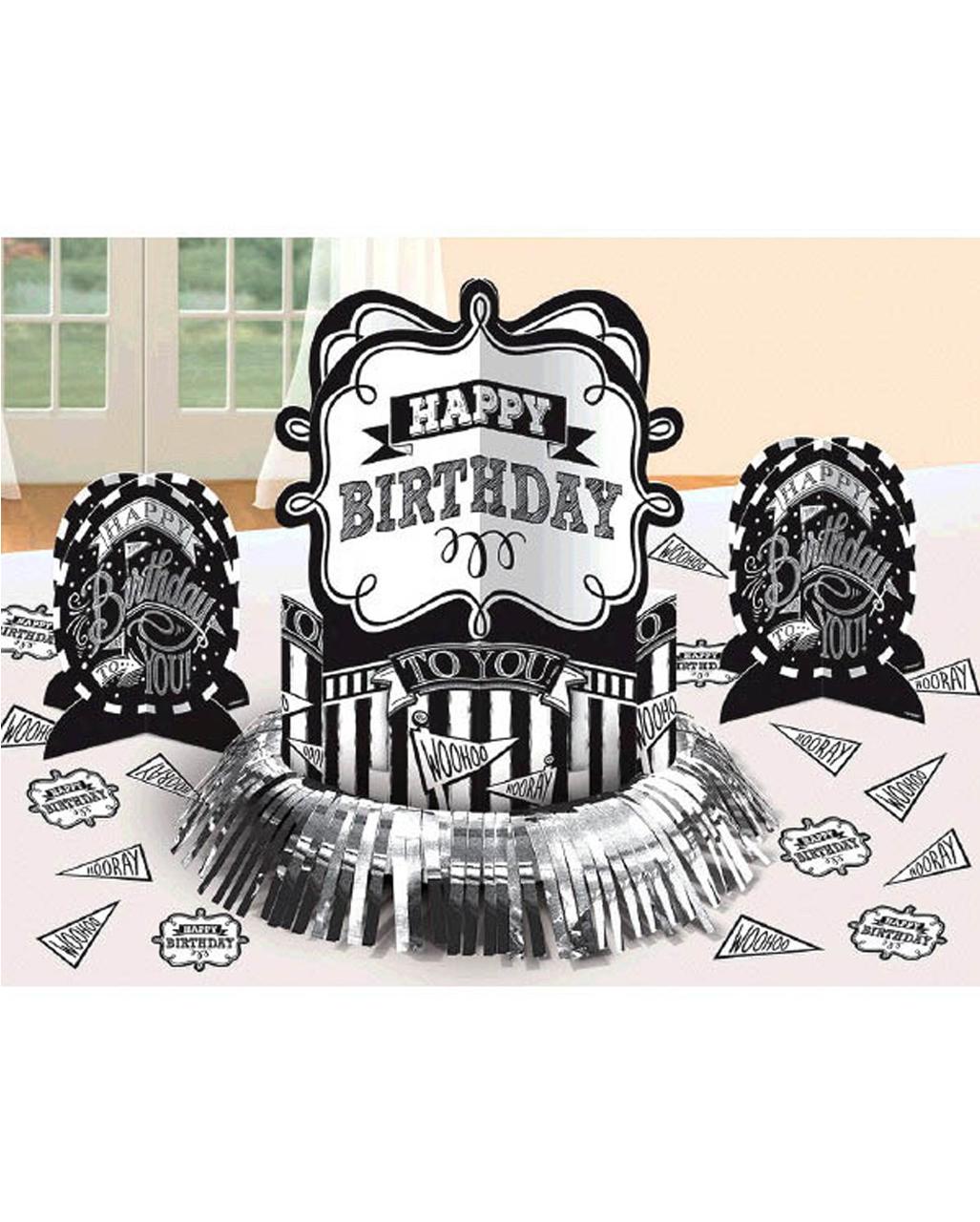 23 Teiliges Happy Birthday Set Als Tischdeko Karneval Universe