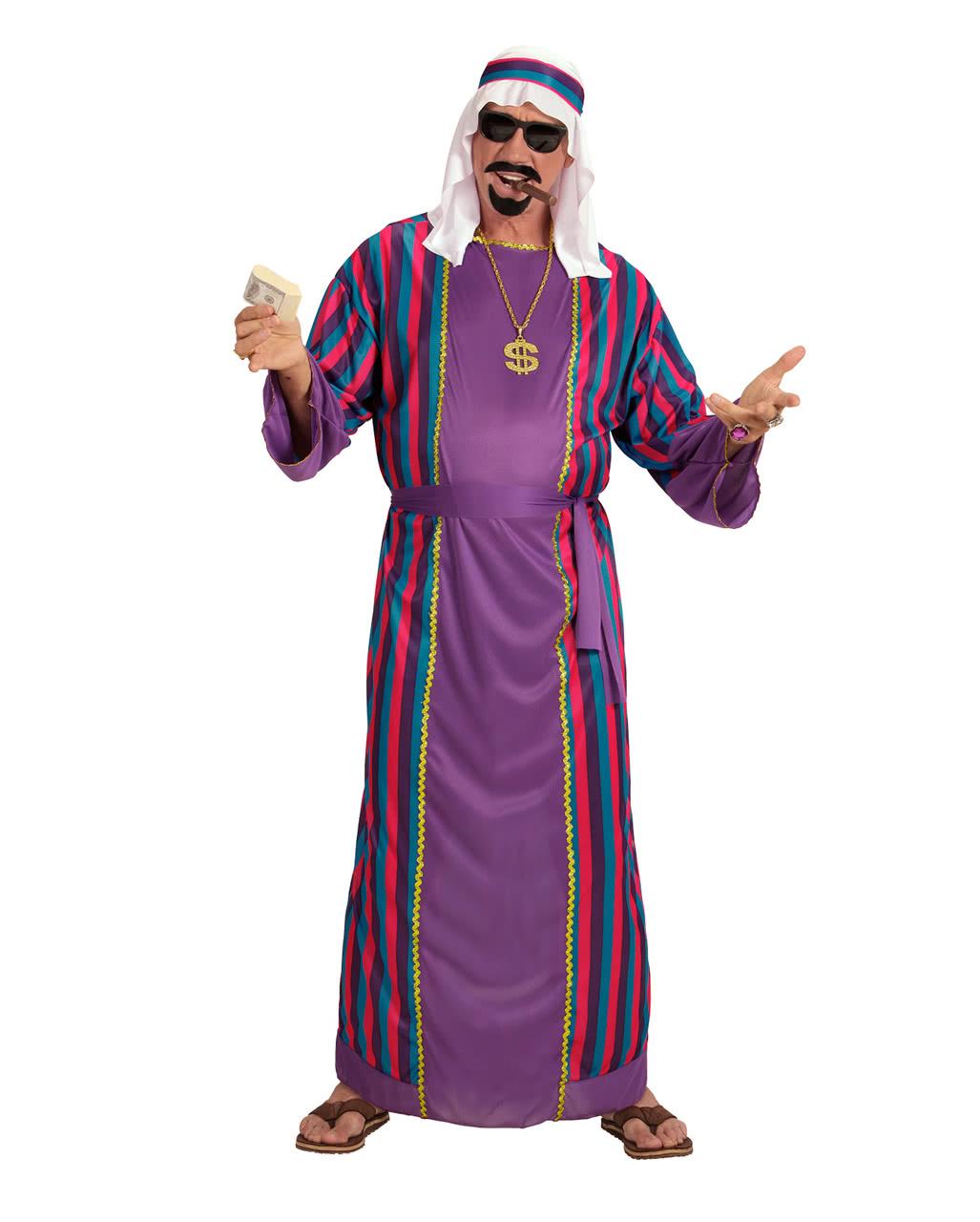 Orientalischer Scheich Kostum Fur Fasching Karneval Universe