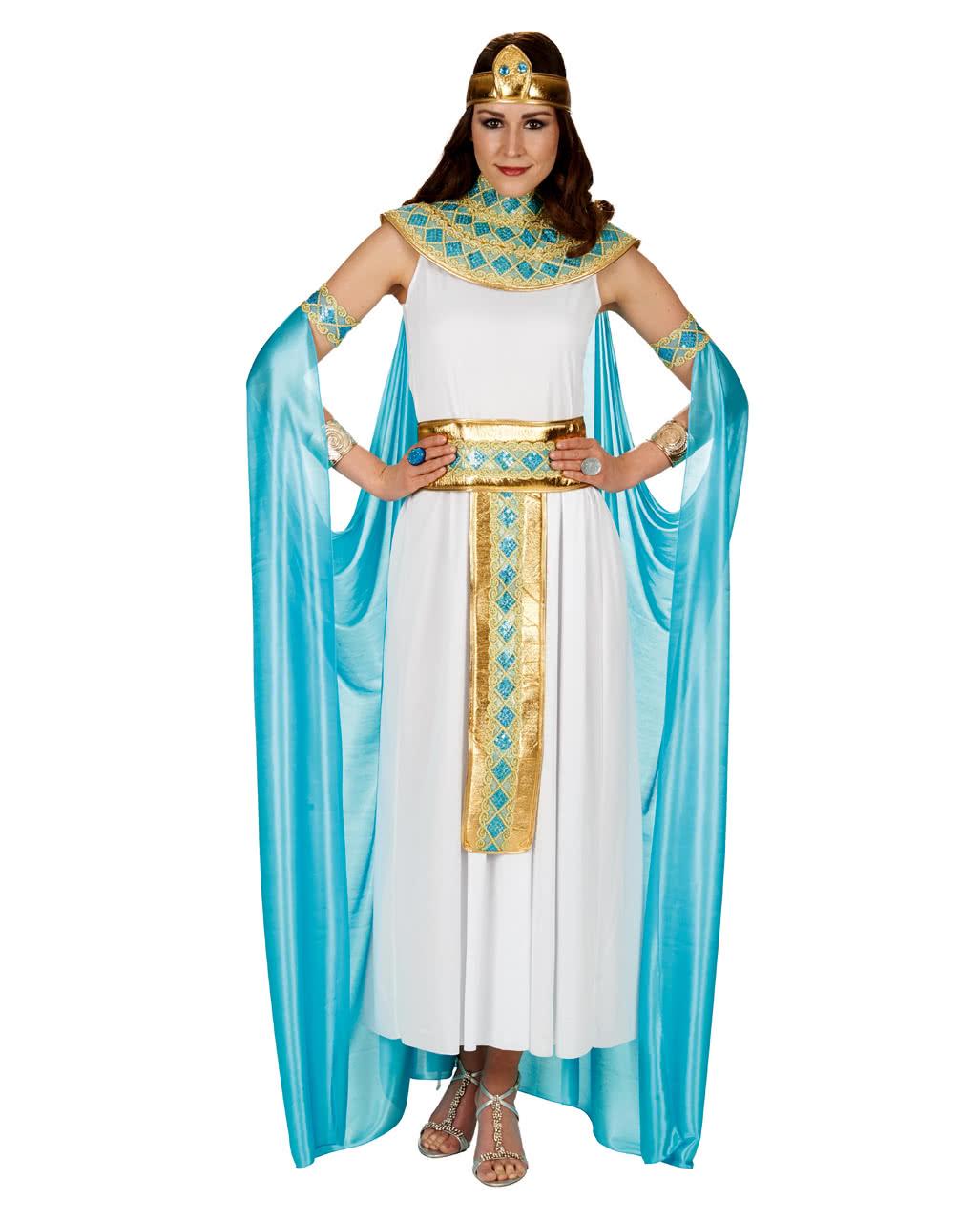 Damenkostum Cleopatra Mit Cape Als Faschingskostum Karneval Universe