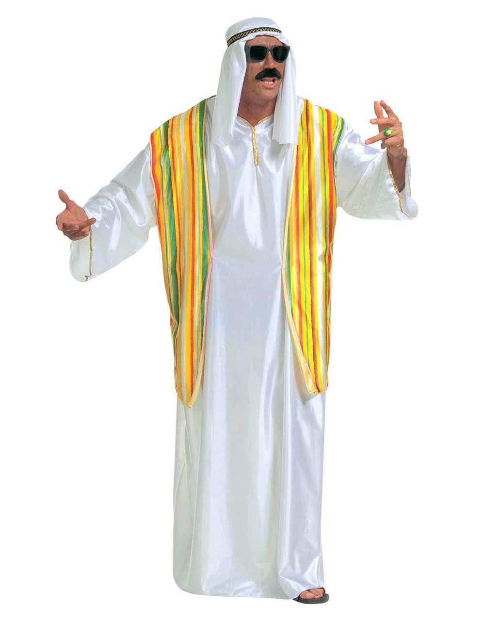Araber Verkleidung Mit Weste Scheich Kostume Bestellen Karneval