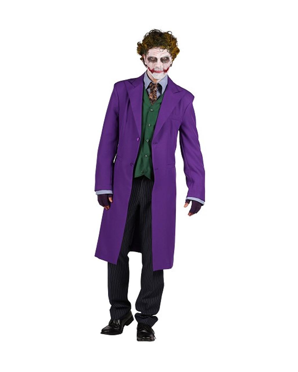 Deluxe Kostum Joker Anzug Mit Weste Fur Karneval Karneval Universe