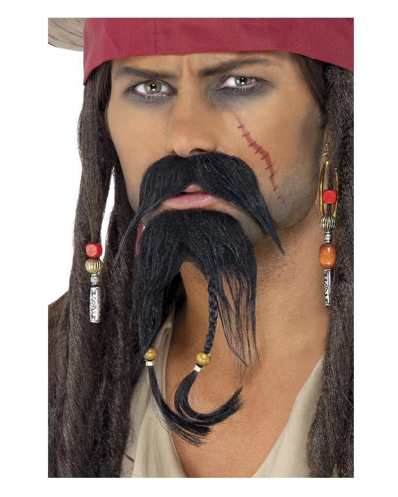 Piraten Bart Set Für Deinen Auftritt Als Pirat Karneval Universe